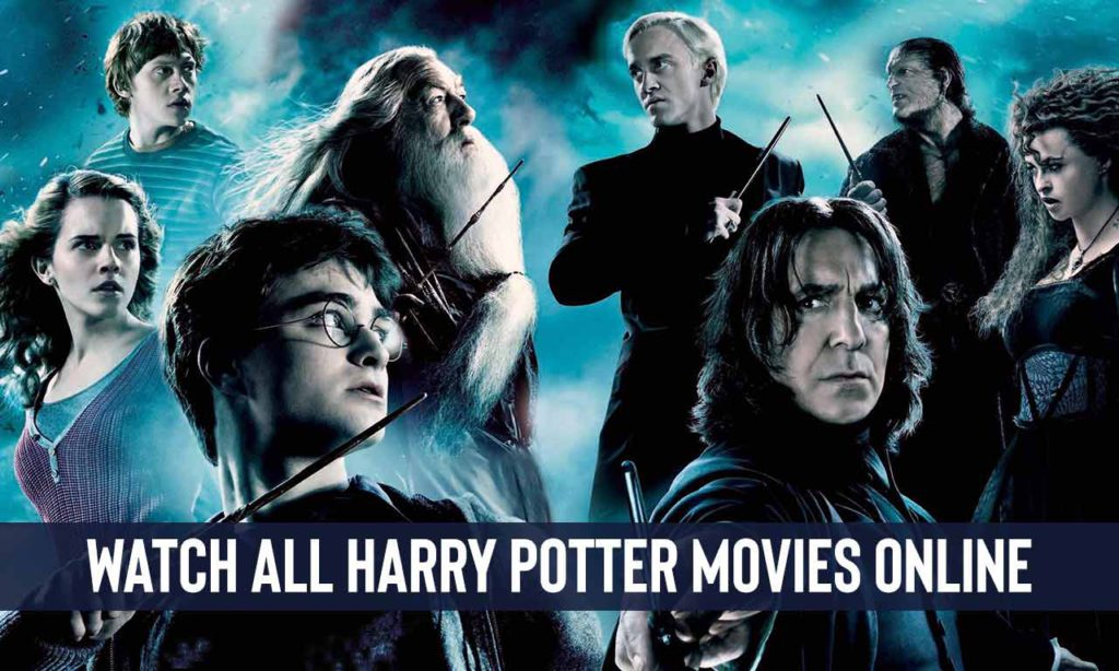 How to Watch All Harry Potter Movies Online