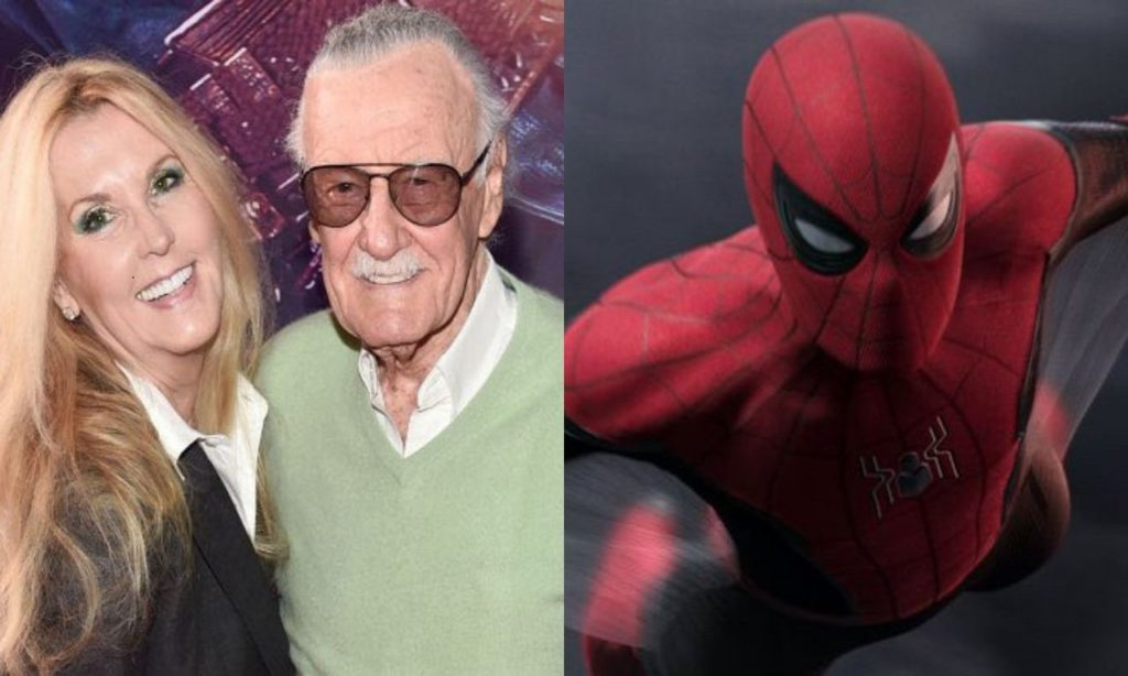Stan lee's daughter sides with SONY over Spider Man