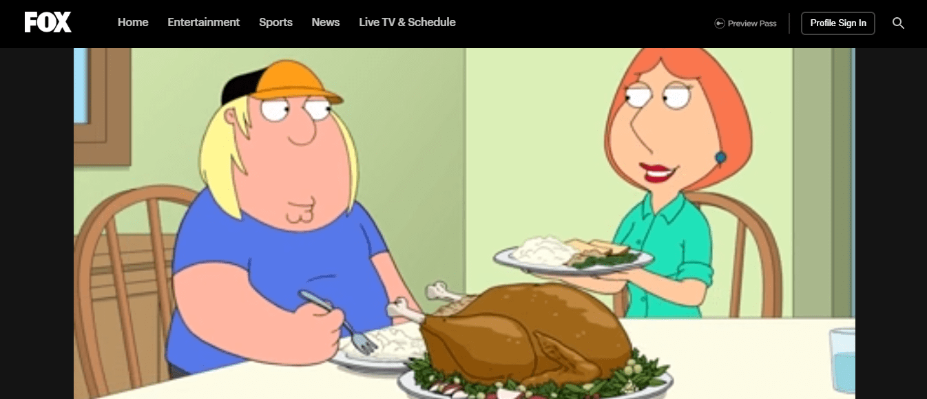 family guy working