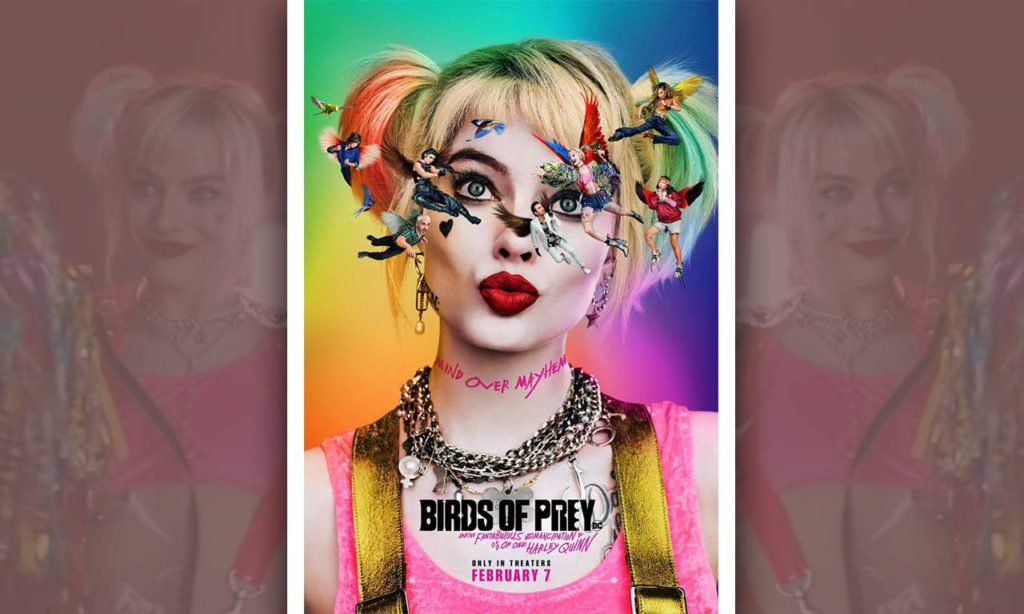 Margot Robbie's Flashy Official Poster for 'Birds of Prey' on Instagram