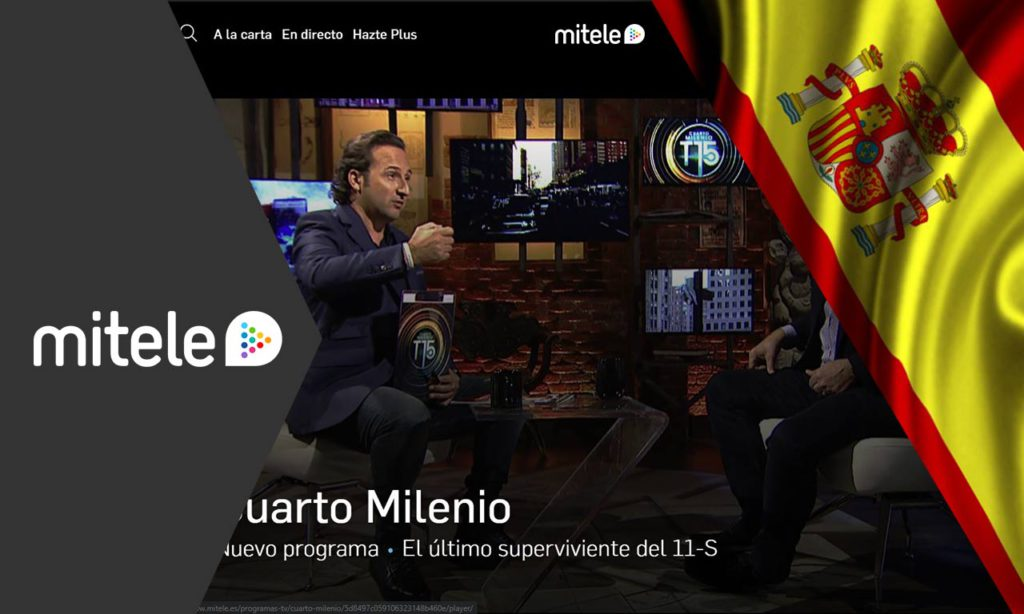 How to Watch Mitele outside Spain Anywhere (Updated January ...