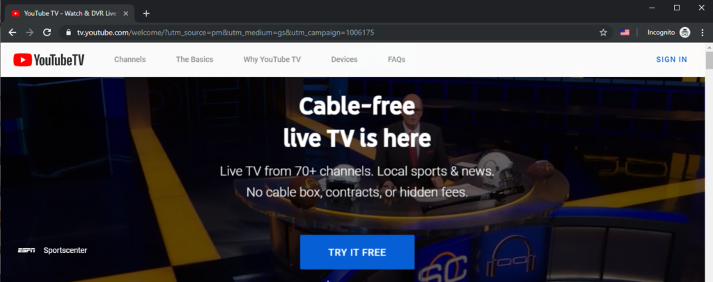 How to watch YouTube TV outside US