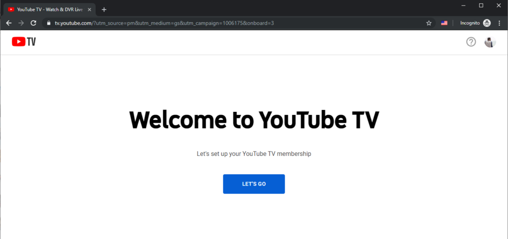 how to unblock YouTube TV outside US