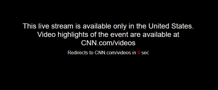 How to watch CNN GO live outside US