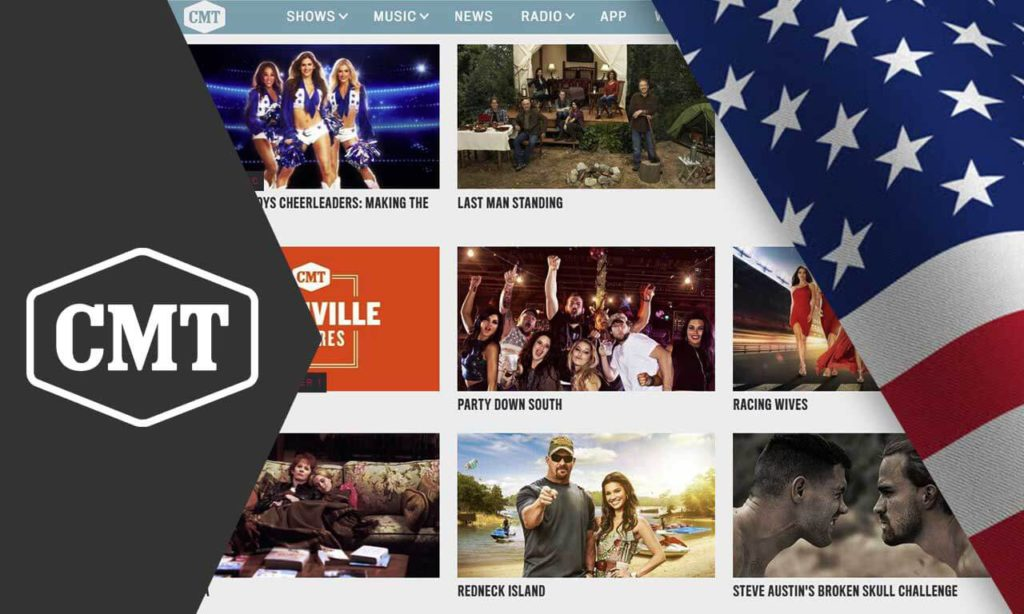 How to Watch CMT Live Stream Outside US