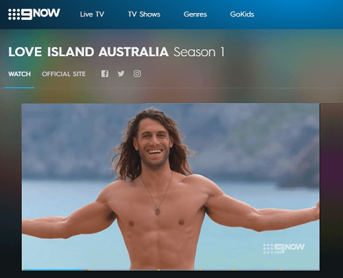 watch 9Now outside Australia