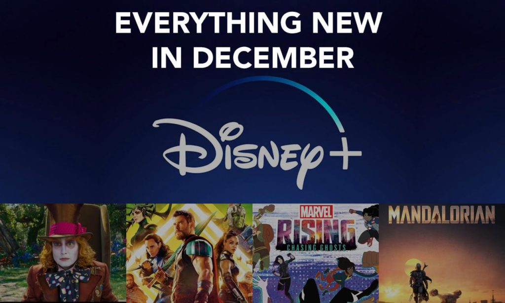 Everything Coming to Disney Plus This December