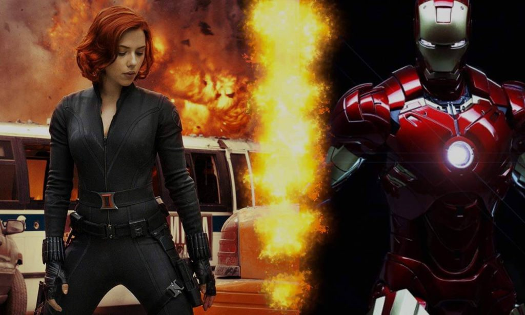 Black Widow To Feature Iron Man?