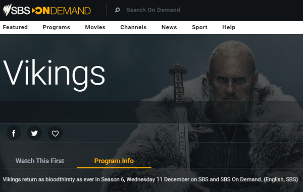 vikings season 6 on sbs