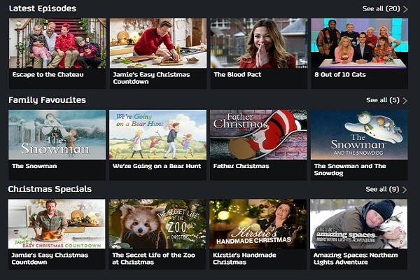 watch channel 4 shows abroad